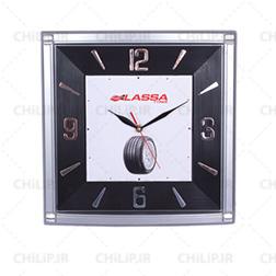 ساعت مربع دیواری تبلیغاتی 203