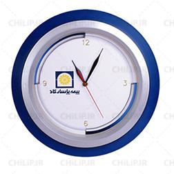 ساعت گرد دیواری تبلیغاتی 214 | ساعت تبلیغاتی ارزان