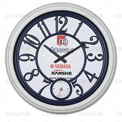 ساعت دیواری تبلیغاتی نوژان دو موتوره