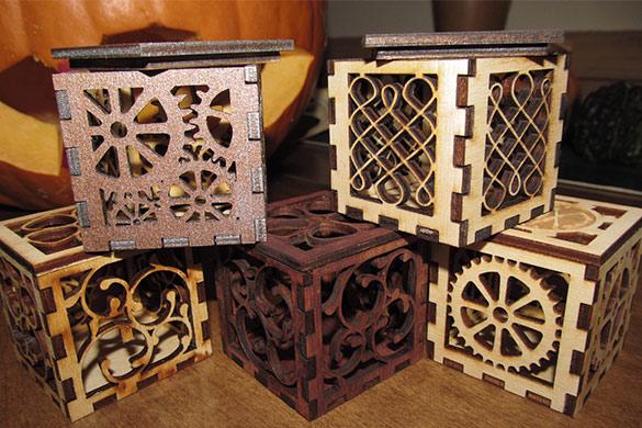 جعبه لیزری | ساخت جعبه پلکسی و جعبه چوبی لیزری