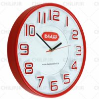 ساعت تبلیغاتی دیواری مدل آلفا