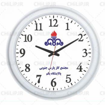 ساعت تبلیغاتی دیواری مدل تینا