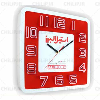 ساعت تبلیغاتی دیواری مدل درنیکا