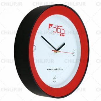 ساعت تبلیغاتی دیواری مدل دیاموند