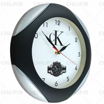 ساعت تبلیغاتی دیواری مدل دیبا