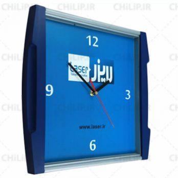 ساعت تبلیغاتی دیواری مدل نگین ۳