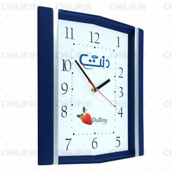 ساعت تبلیغاتی دیواری مدل نگین 5