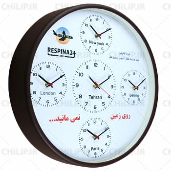 ساعت تبلیغاتی دیواری مدل گرینویچ