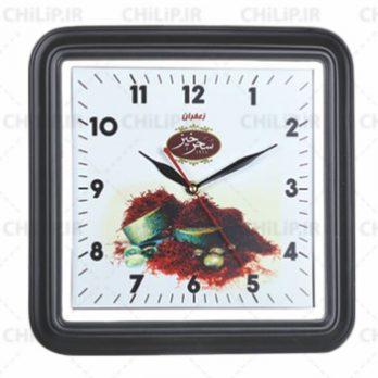 ساعت تبلیغاتی دیواری مدل تانیا ۴ گوش