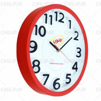 ساعت تبلیغاتی دیواری مدل توسکا