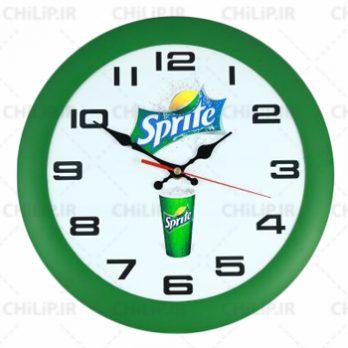 ساعت تبلیغاتی دیواری مدل رولکس