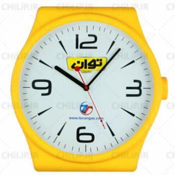 ساعت تبلیغاتی دیواری مدل سورن
