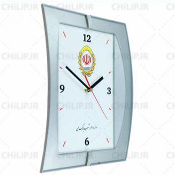 ساعت تبلیغاتی دیواری مدل نگین ۱