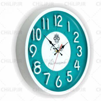 ساعت تبلیغاتی دیواری مدل نگین ۶
