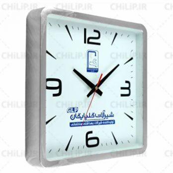 ساعت تبلیغاتی دیواری مدل کارن