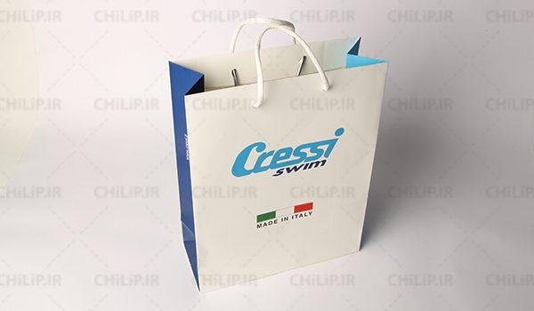 ساک دستی کاغذی شرکت Cressi Swim