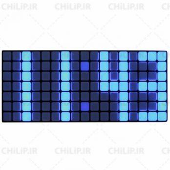 ساعت دیواری LED مدل ۳۰۱۰