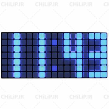 ساعت دیواری LED مدل 3010