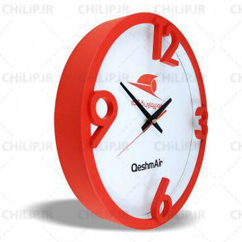 ساعت تبلیغاتی دیواری مدل تیدا