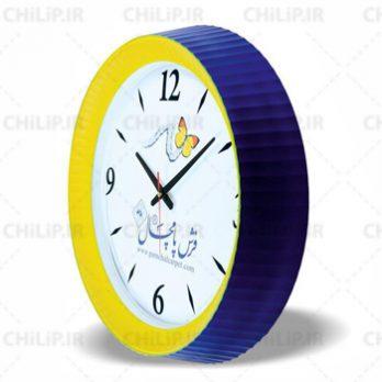 ساعت تبلیغاتی دیواری مدل ویسپر ۳