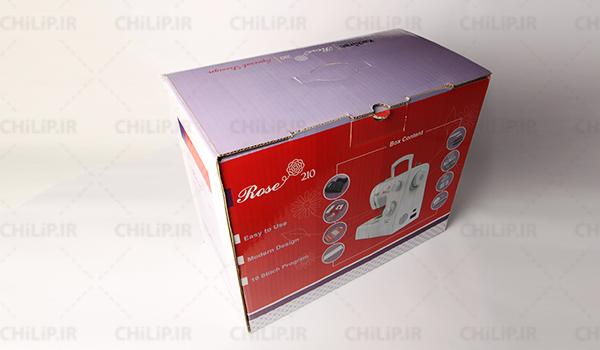 جعبه بسته بندی چرخ خیاطی شرکت کاچیران