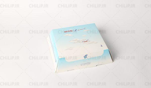 طراحی و جعبه سازی محصول هواپیمایی معراج