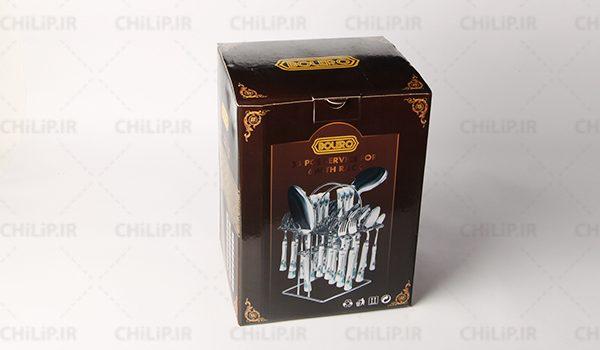 طراحی و ساخت جعبه محصولات بولرو Bolero