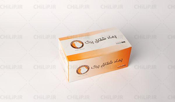 جعبه بسته بندی پماد شقاق قناری پرک