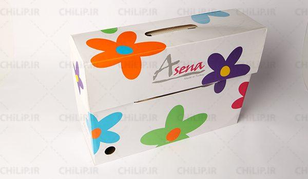جعبه بسته بندی کالای خواب آسنا ترکیه