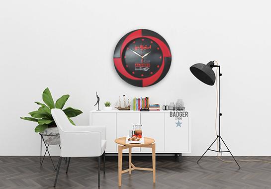 مدل ساعت دیواری جدید تبلیغاتی