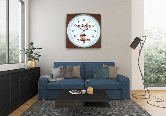 ساعت تبلیغاتی دیواری