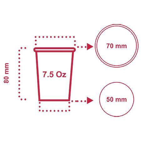 لیوان کاغذی 200 سی سی