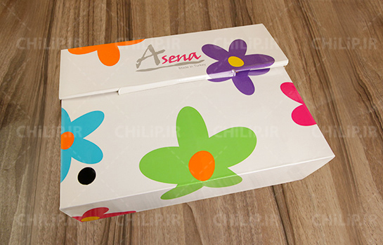 چاپ بسته بندی شرکت آسنا