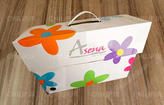 طراحی بسته بندی شرکت آسنا