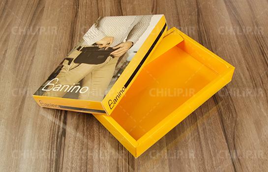 طراحی بسته بندی جعبه کیف بانینو
