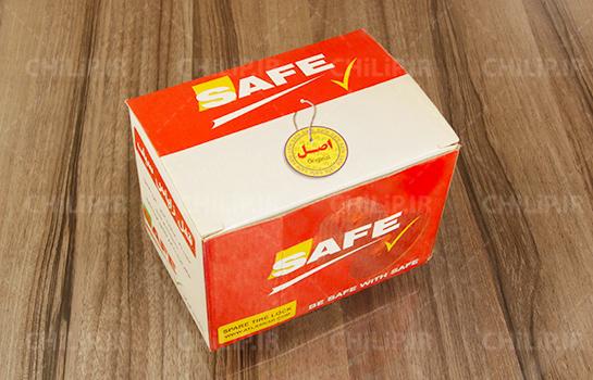 طراحی بسته بندی جعبه قفل SAFE