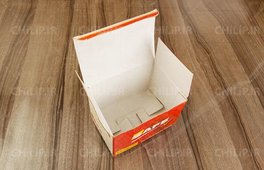 بسته بندی جعبه قفل